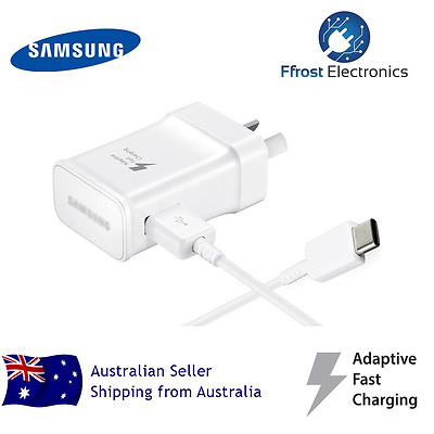 Genuine samsung 9V 5V AC Fast charge wall charger and Type-c cable for S8 / S8+
