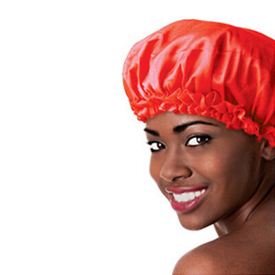 Unisex Lace Cover Night Sleep Cap Sleeping Hat Hair Satin Bonnet Styling Cover