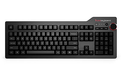 Das Keyboard 4 Professional for Windows (MX Blue) Clicky Typing Experience