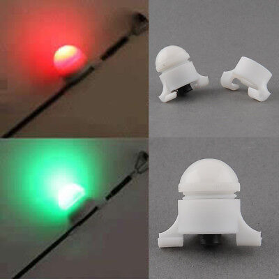 HOT Night Fishing Rod Tip Clip on Fish Bite Alarm Strike Alert LED Light