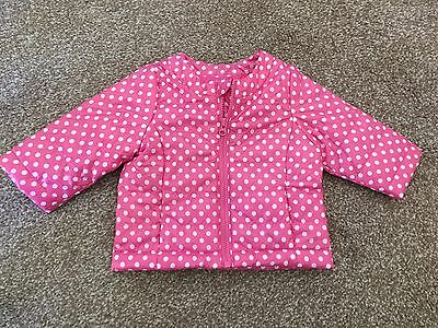 Baby Benetton Girls Waterproof Jacket 3-6 Months