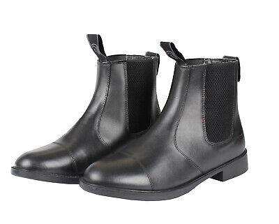 HORKA Basic Leather Jodhpur Short Riding Boots - Black
