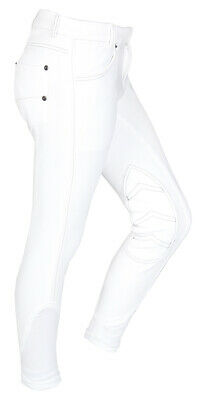 RED Horse Boys Junior Horse Riding Breeches - 'Kevin'
