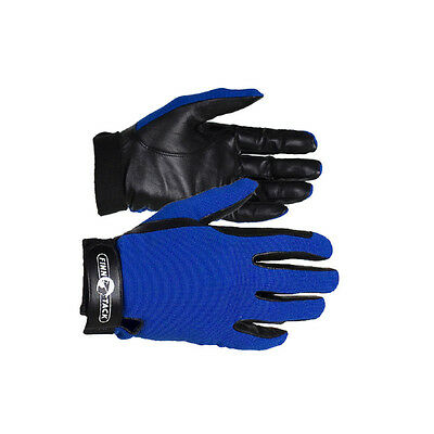 Finntack Ft Summer Gloves - Leather/Textile - Horse Riding Gloves