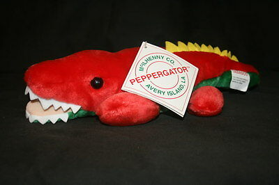 "McIlhenny Co. ""Peppergator""  Tabasco Plush Alligator"