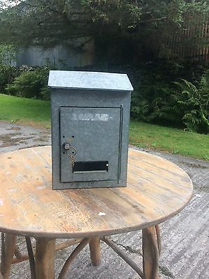 Galvanised French Letterbox