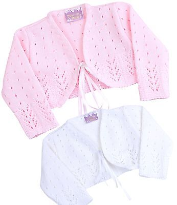 1ef766c20 KNITTED BABY GIRL Hooded Poncho Shawl Cardigan Wrap - Babytown Nb ...