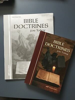 Abeka Bible Doctrines for Today Quiz / Test Key and Video Manual Grade 10