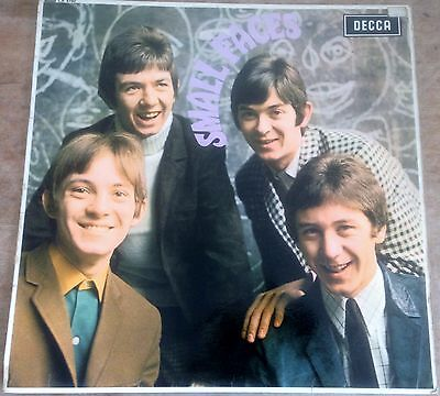 SMALL FACES self titled 1966 ORIG UK RED UNBOXED DECCA MONO VINYL MOD LP LK 4790