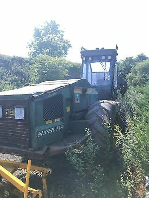 fmg 746/250 turbo super forsety digger tractor 6 wheel drive