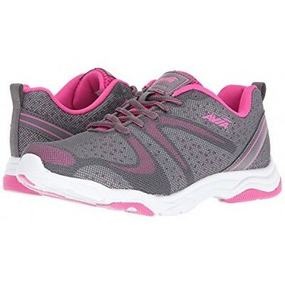 Avia AVI CELESTE A1361WVPS Womens Grey Pink Athletic Lace Up Sneakers Shoes