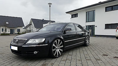VW Phaeton W12 6.0 420PS 4-Motion Vollaustattung 22 Zoll Tiefer kein Audi A8