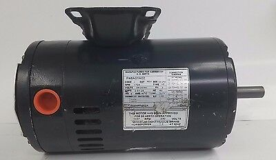 Carrier, A. O. Smith, P48A01A02, Electric Motor, 3/4 hp, 1725 RPM, 208-230/460V