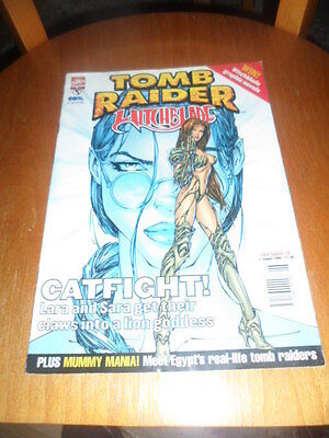 tomb raider witchblade issue 2 11th august 1999