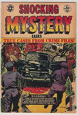 Shocking Mystery Cases #59 1954 Lb Cole Cover