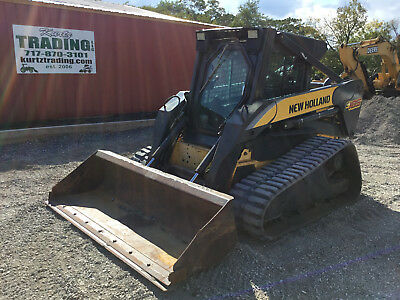 2006 New Holland C185 Tracked Skid Steer Loader w/ Cab!