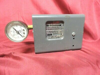 Norgren HONEYWELL Pressure SWITCH P643 120v, 240v, 277v, 480v Rating 30 PSI USED
