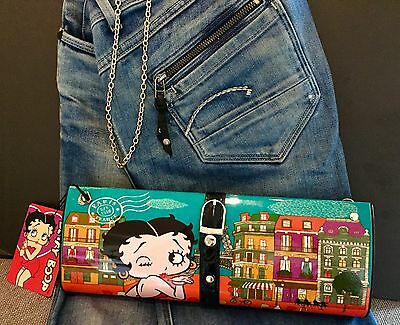 Betty Boop Clutch And Shoulder Bag