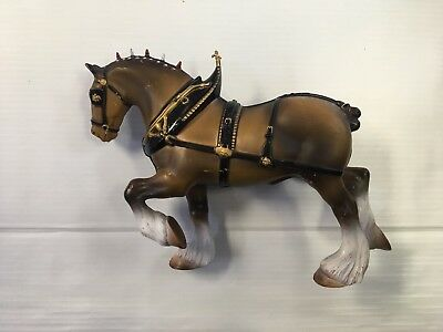Hartland Budweiser Clydesdale plastic horse