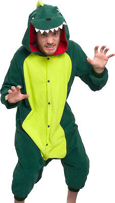 SILVER LILLY Unisex Adult Plush Animal Cosplay Costume Pajamas (Dinosaur) 58ab80237