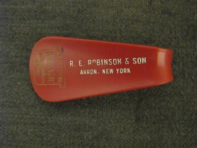 Vintage Shoe Horn RE Robinson & Sons Akron, New York  WEYENBERG MASSAGIC SHOES