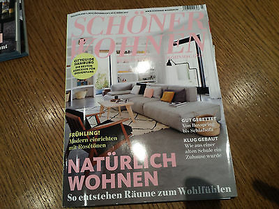 sch ner wohnen zeitschrift februar 2017 eur 1 00. Black Bedroom Furniture Sets. Home Design Ideas