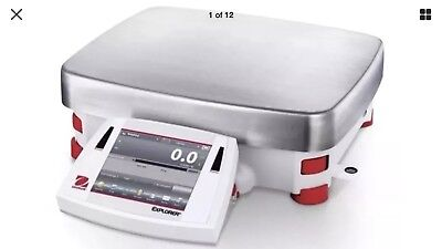 Ohaus Explorer Precision Balance High Capacity Laboratory Scale Ex12001 Am New