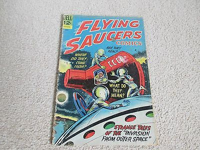 FLYING SAUCERS COMIC, No 2 July 1967-Dell comics