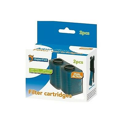 Easy Click Cartridges  Aqua Flow 100  2 Pcs *SAME DAY DESPATCH*