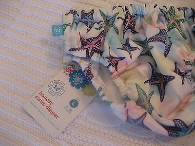 NWT SWIM DIAPERS size LARGE THE HONEST COMPANY STARFISH