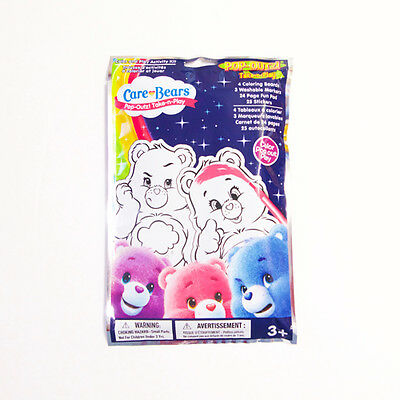 New Care Bears Color & Play Activity Kit Grab Bag
