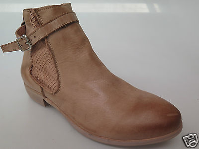 Django & Juliette - new ladies leather ankle boot size 37 #146 *CLEARANCE*