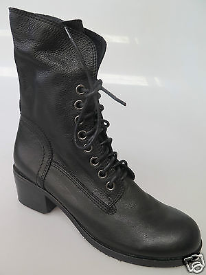 Django & Juliette - new ladies leather ankle boot size 37 #148 *CLEARANCE*