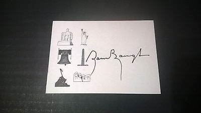 Sammy Baugh Autographed 3.5 x 5 card. Washington Redskins