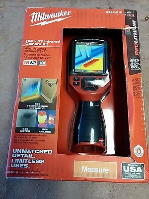 Milwaukee 2258-21H  M12 Fuel Infrared Camera Kit  Brand New Free Ship