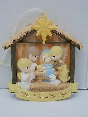 Precious Moment~Nativity Scene Christmas Ornament ~ 'How Precious The Night'