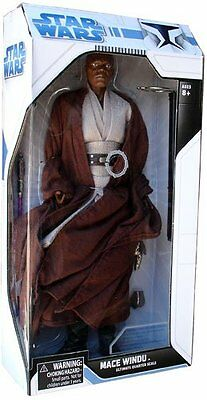 Star Wars - Diamond Select Toys Mace Windu 1/4 Scale - Brand New