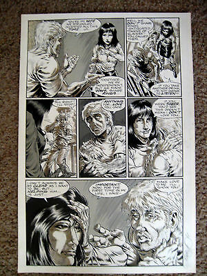 Tim Vigil Original Art Faust Act 8 page 16  Love of the Damned