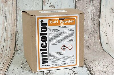 Unicolor Powder C-41 Film Negative home Processing Kit 1 litre very simple!#002