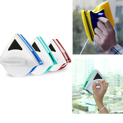 Magnetic Double Sided Window Glass Cleaner Window Surface Brush Cleaning Tools