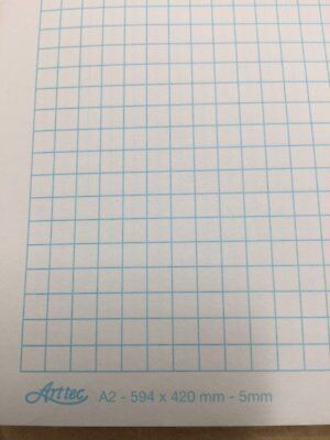 Graph Paper A2 594 x 420 mm 5mm, 2mm or 1mm sheet