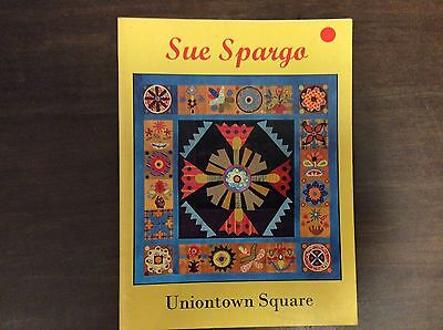 "BOOK   :  QUILT  "" UNIONTOWN SQUARE"" by SUE SPARGO"