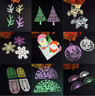 New Design Christmas Style Cutting Dies Stencil Embossing Album Craft DIY