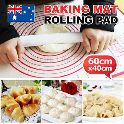 OZ Silicone Fibreglass Rolling Dough Pad Pastry Bakeware Silpat Liner Baking Mat