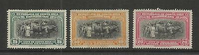 Costa Rica ~ 1945 Coffee Gathering Definitive (Mint Mh)
