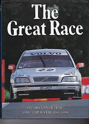 THE GREAT RACE No 18  - 1998 AMP BATHURST 1OOO - Good Condition with DW