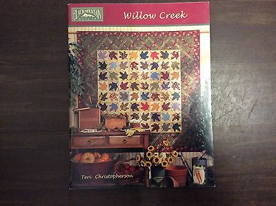 """BOOK """" WILLOW CREEK"""" by TERI CHRISTOPHERSON OF BLACK MOUNTAIN QUILTS"""
