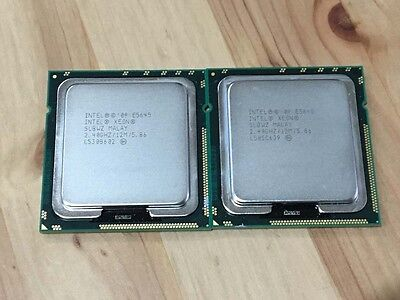 2 x Intel® Xeon® Processors E5645 SLBWZ Hex 6 Core