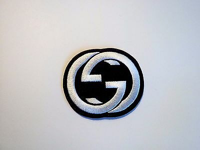 1x Gucci Logo Patch Embroidered Cloth Applique Badge Patches Iron Sew On 1