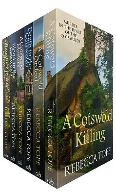 Lake District Mysteries Collection By Rebecca Tope 4 Books Set Coniston Case New